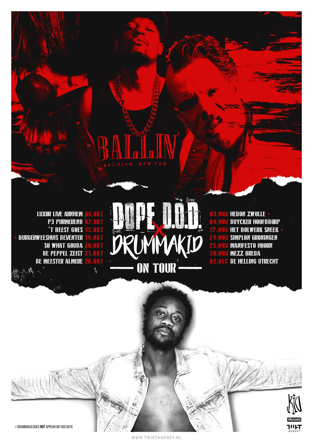 Dope D.O.D. & Drummakid On Tour