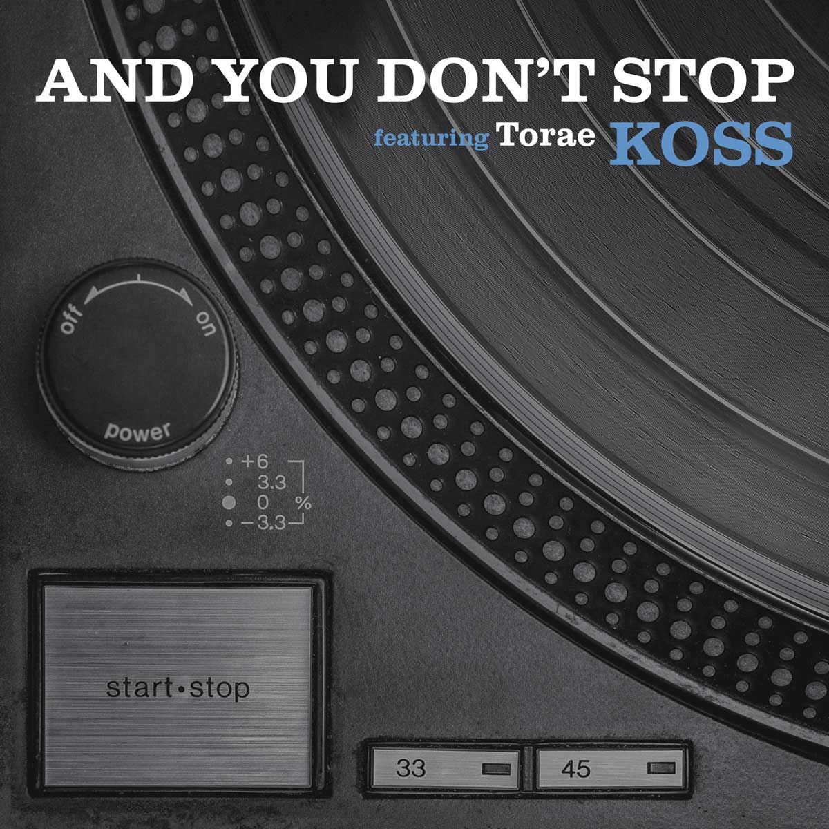 Koss - And You Don't Stop